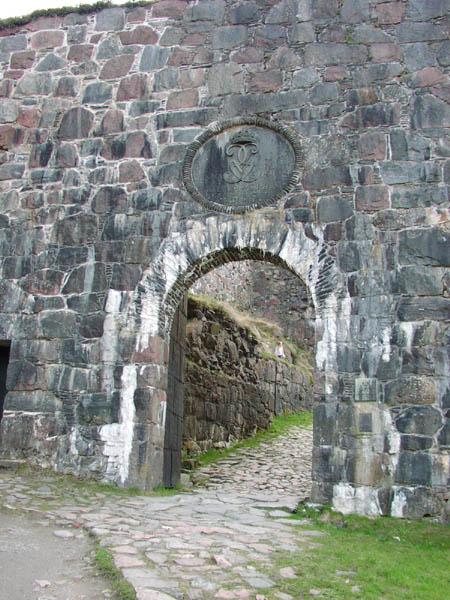 Blockhusporten, Bohus Fästning (restaurerad)
