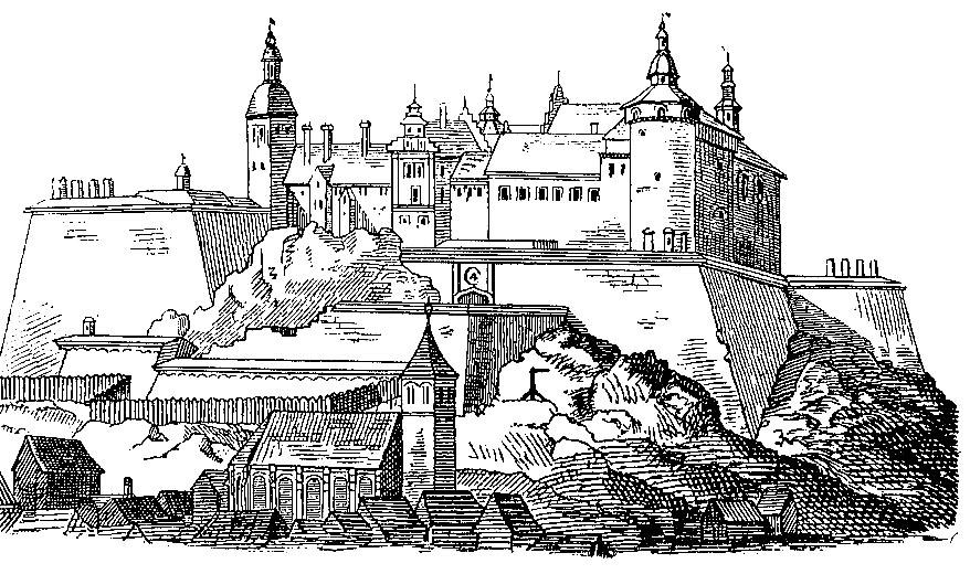 Bohus 1658 - Anton Nyström, Allmän kulturhistoria eller det mänskliga lifvet i dess utveckling, band 4 (1902)