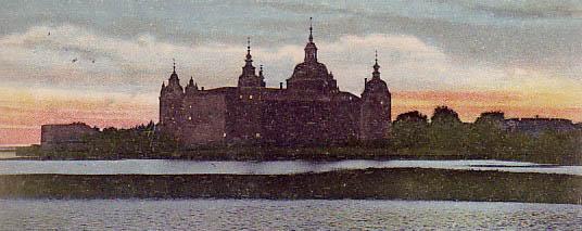 Kalmar Slott - Från ett gammalt vykort